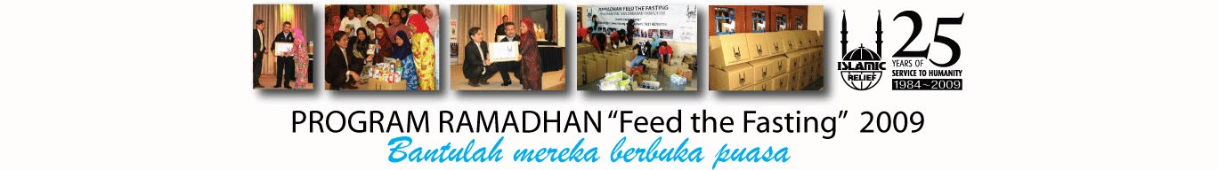 "Ramadhan ""Feed The Fasting"""