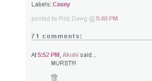I am Murst!