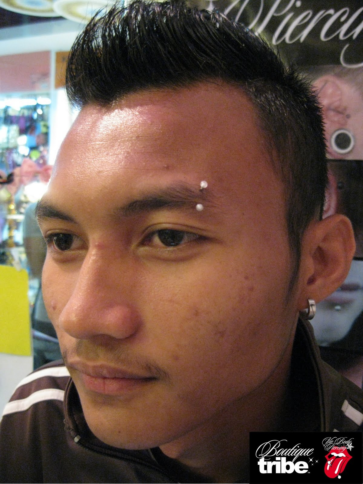 Vie Body Piercing Boutique Tribe Eyebrow Piercing