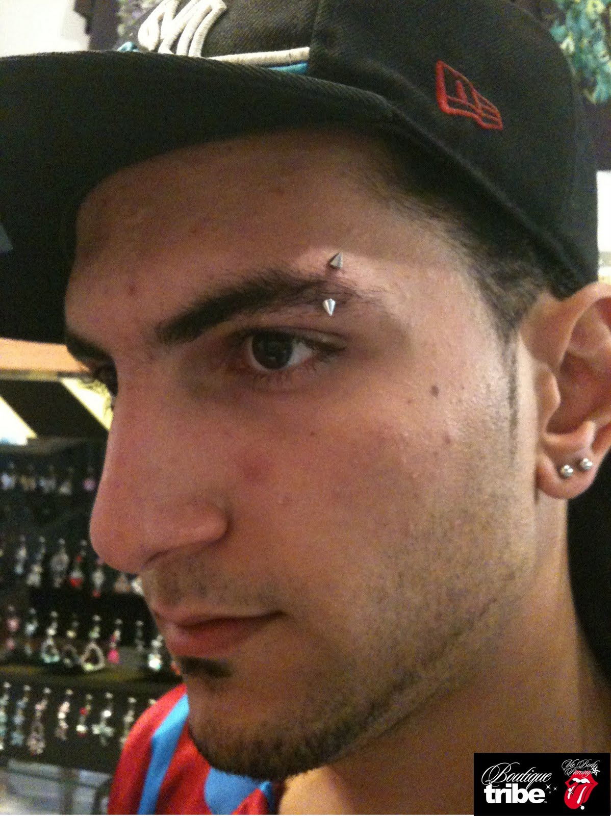 Vie Body Piercing Boutique Tribe Eyebrow Piercing