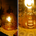 Amber Glass Pendant Light { For Sale }
