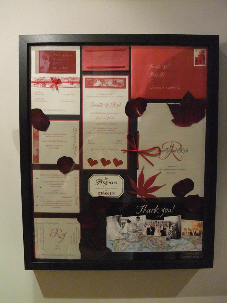 diy destination wedding diy wedding invitation photo frame finished