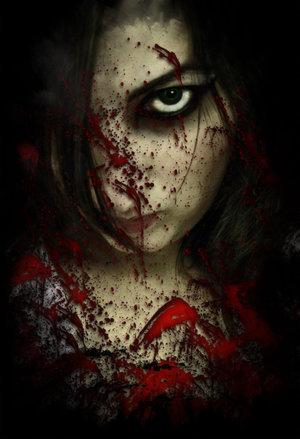 gambar setan gothic metal