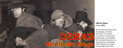 OBRAS de Alberto Mego