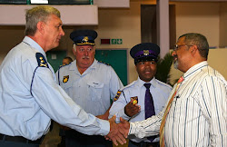 Pastor Jerome Liberty meets SAPS