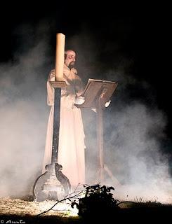 Fotografía de la representación del Miserere