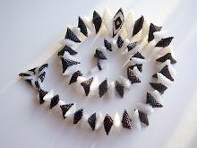 Zwart-wit ketting