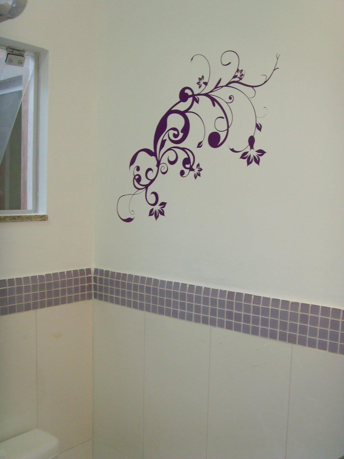 Banheiros Com Pastilhas Azuis Ideias Para Decorao Pictures #432A42 1200 1600