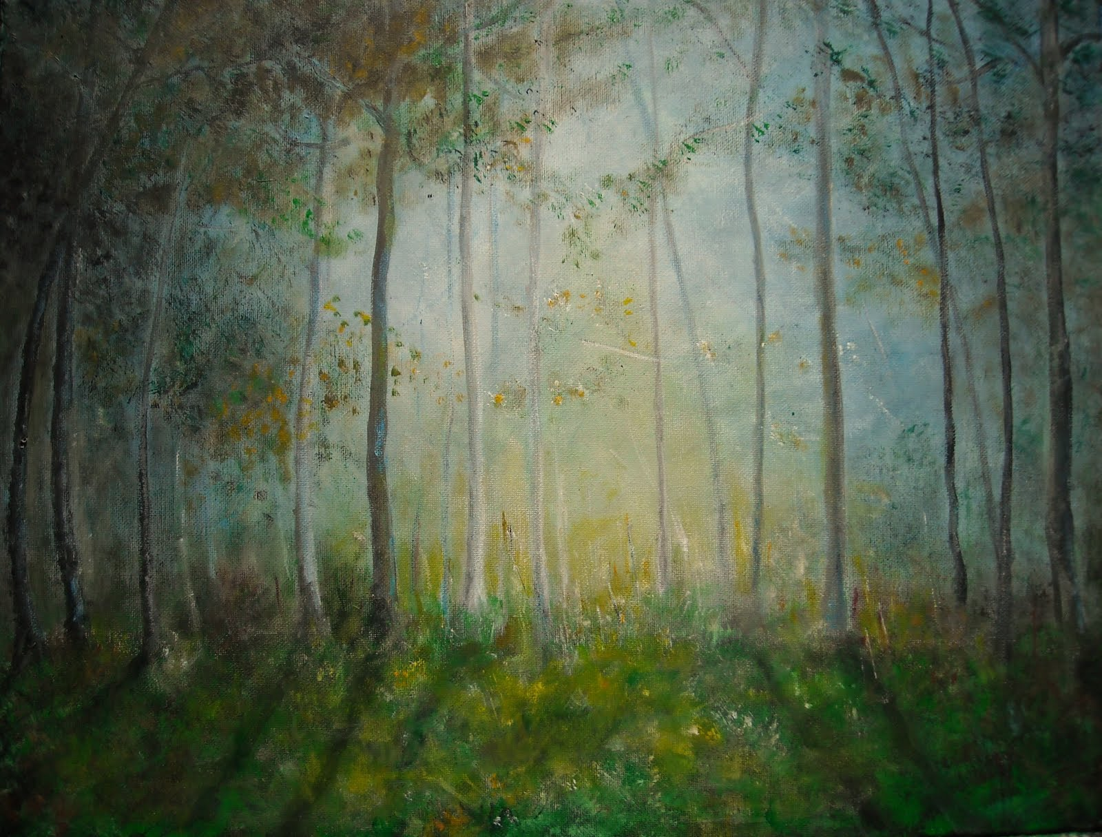 1000 images about the drunkard on pinterest theatres for Painting a forest in acrylics