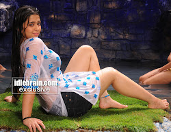 charmy rain dance cleavage show transparent top navel show spreading legs smooth soft thighs  love cute sexy beautiful shorts