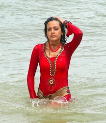 neha julka spicy wet sexy beach bath red hot dress dance curvy indian girl actress