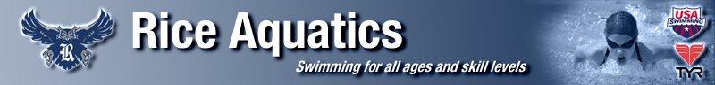 RICE Aquatics  - Outside the Lane Lines