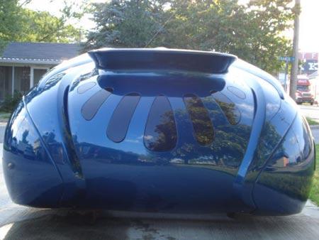 blue future car