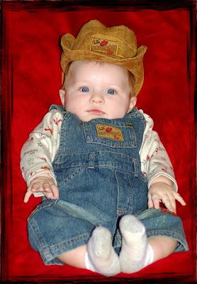 A little cowboy in the makin'