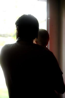 Grandpa and his boy