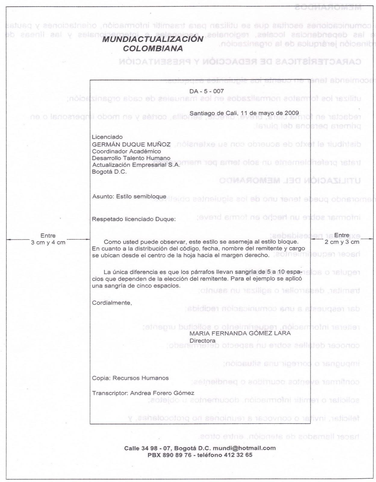 Producir documentos como hacer una carta