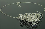 Cube of cubes necklace