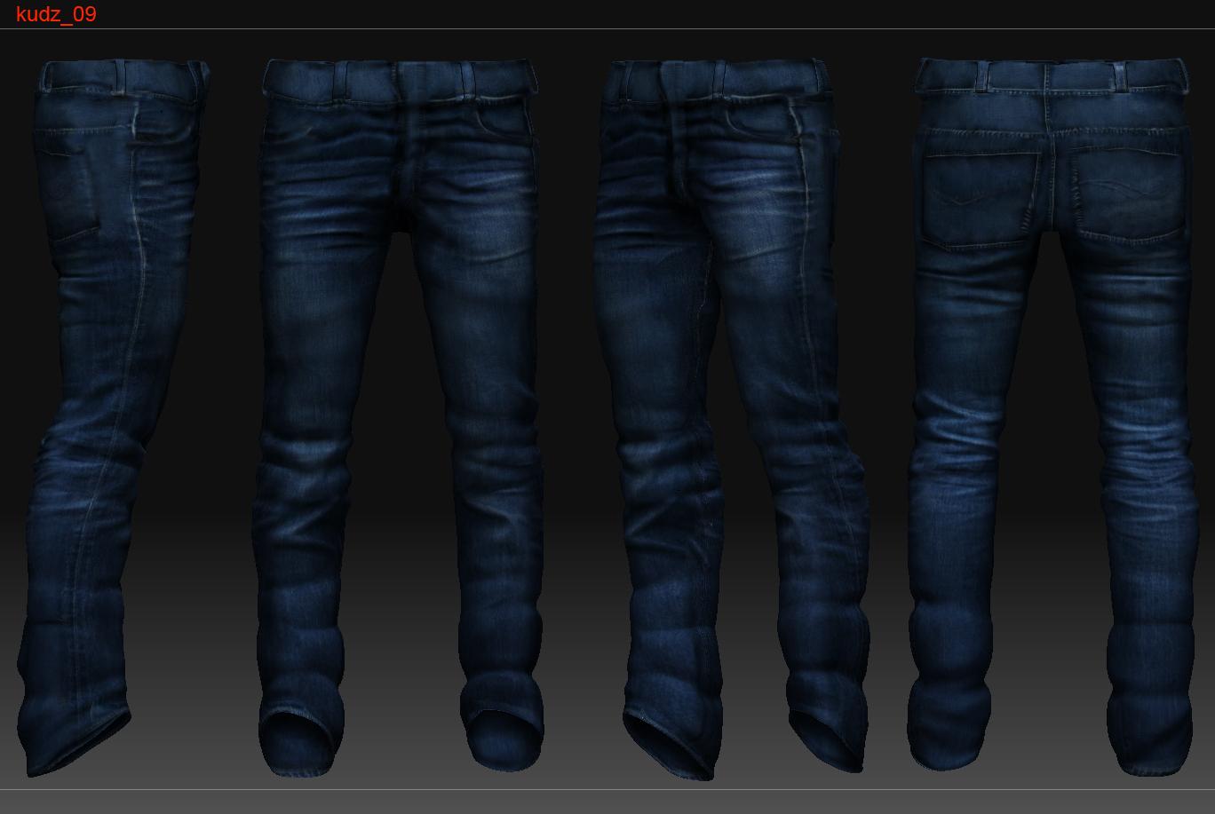 Shoe Texture Dress Pants