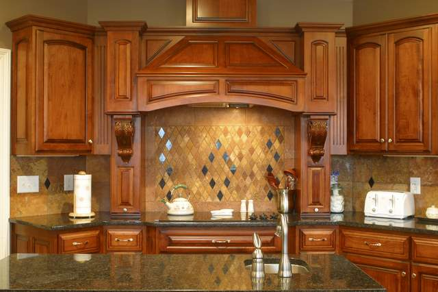 Country kitchen backsplash modern designs