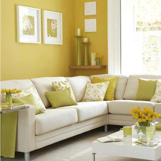 Yellow Living Room Wall Color