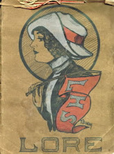 Cover of LHS Yearbook ~ 1912