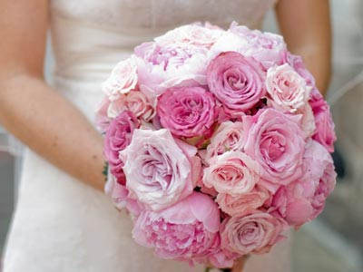 Nothing is more beautiful that a pale pink peony wedding