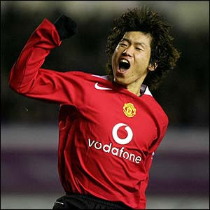 manchester united park ji-sung 100 appearances