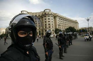 romania blog discontent riots economic downturn