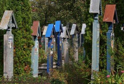 the merry laughing cemetery sapanta romania