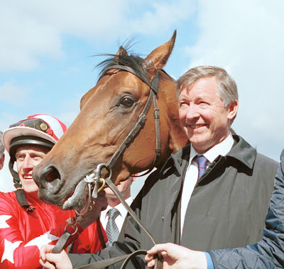 alex ferguson what a friend cheltenham