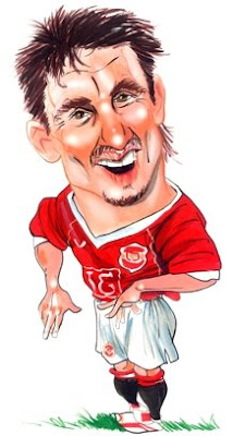 gary neville caricature cartoon picture