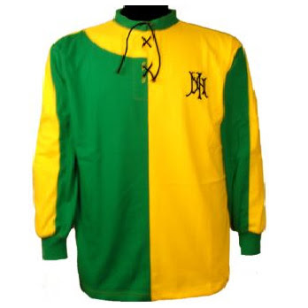 newton heath L & YR football shirt