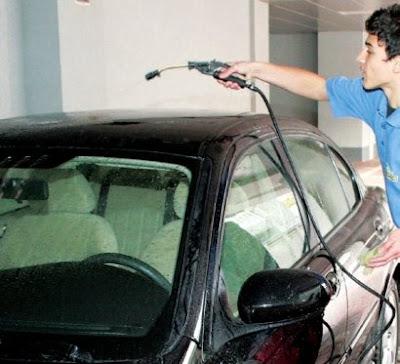 Blink Wash car wash door to door service bucharest