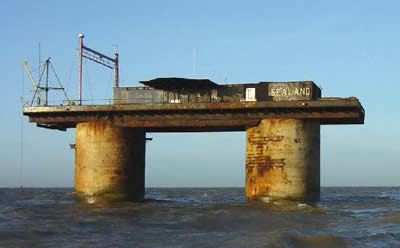 principality of sealand micronation hm fort roughs north sea