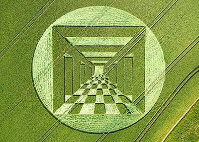 amazing pictures of crop circles