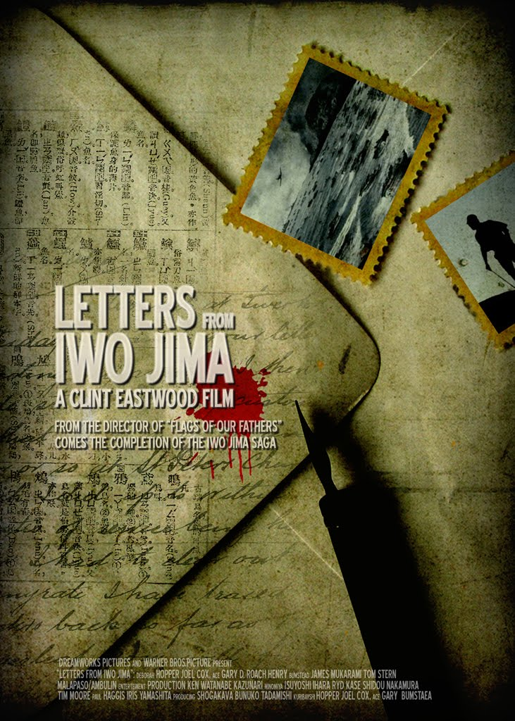 letters from iwo jima For a fraction of a second at the very beginning of clint eastwood's letters from iwo jima, you may think that you are gazing overhead at a field of stars in fact, you are looking straight down into the ground, at waves of black sand on the volcanic island where, over the course of five weeks in february and.