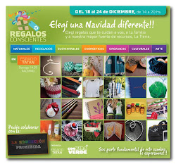 SABADO 18/12 FERIA DE REGALOS CONSCIENTES