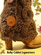 Make Legwarmers This Fall!