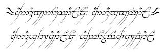 Annatar Tenwar Sao O Alfabeto Runico Dos Elfos Na Mitologia Tolkien