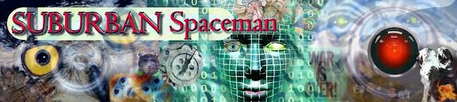 Suburban spaceman