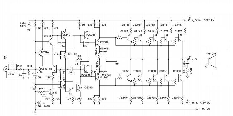 30 Watt  lifier Using Tda2040 together with 200w Mosfet Power  lifier in addition lifier 1000w together with lifier furthermore Index1. on tda2030 audio amplifier schematic diagrams power