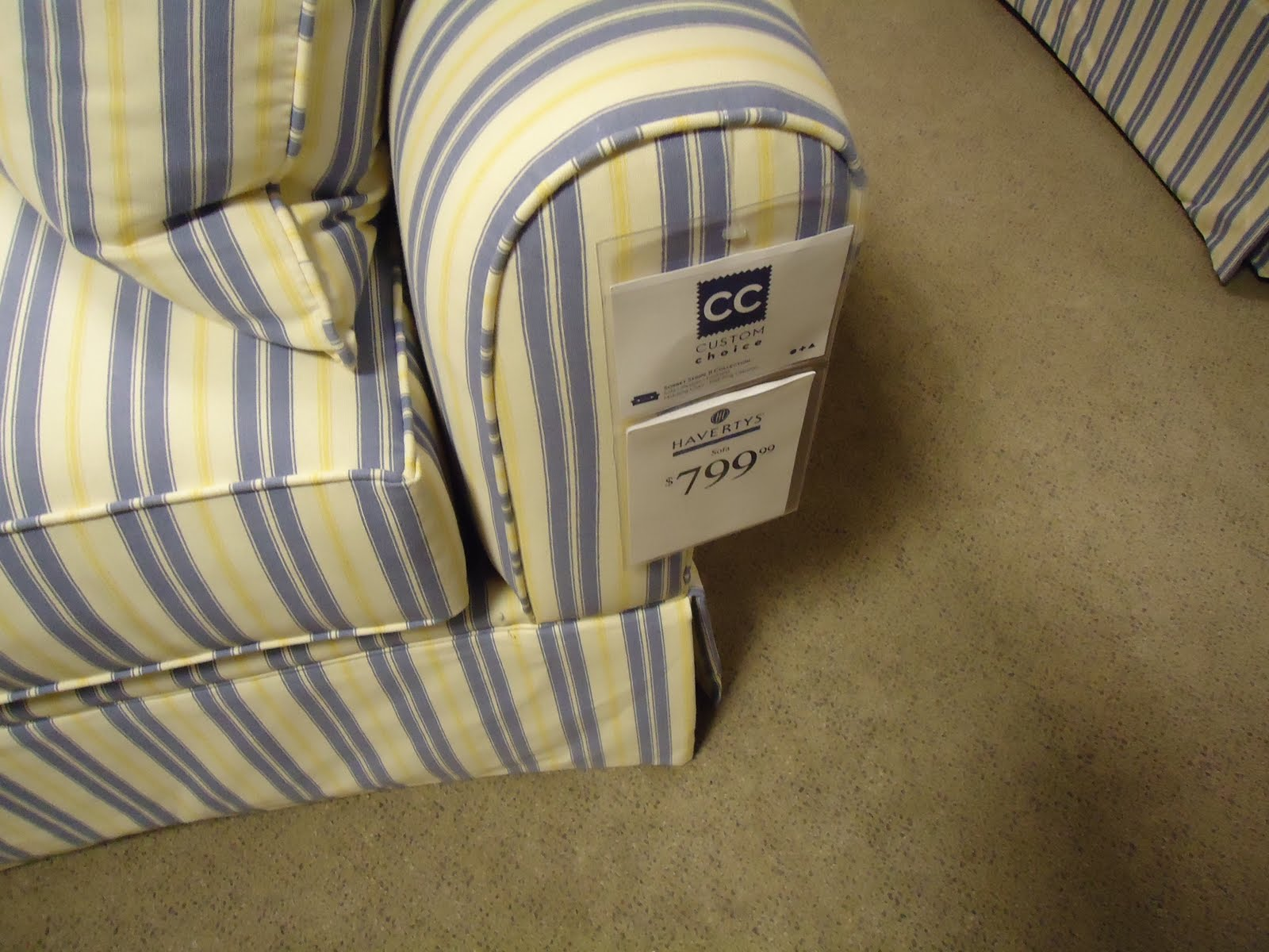 My Red Herring Furniture Excursion Part 1 Haverty S