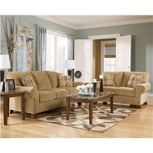 8. A Great Plain Leather Sectional Option.