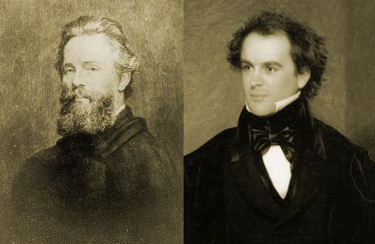 Herman Melville and Nathaniel Hawthorne