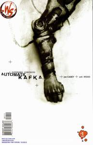 Automatic Kafka - Joe Casey - Ashley Wood - cubierta nº 1
