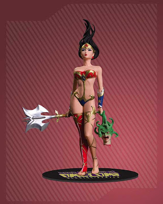 Wonder Woman - estatua ani comi