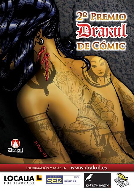 II Premio Drakul de cómic en Getafe Negro