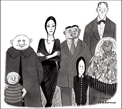 La familia Addams - Charles Addams - grupo