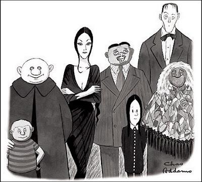 La familia Addams - Charles Addams - grupo