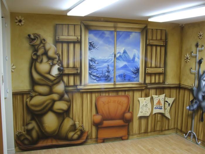 air de jeux/mon frère l'ours